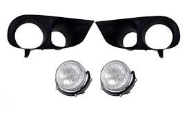 2003 04 mustang cobra fog light bezel kit mustang cobra fog light bezel kit 99 01 lmr com