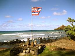 Image Of Hawaiian Flag April 2011 Mageela Troche