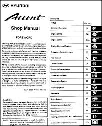 hyundai accent hp 2004 hyundai accent repair shop manual original
