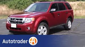 Ford Escape Suv - 2012 ford escape suv new car review autotrader youtube