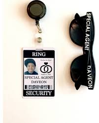 ring security wedding new savings on ring security id badge set with sunglasses and