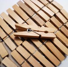 amazon com sturdy small craft clothespins 1 3 4