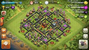 big clash of clans base the curse of clash of clans gamegrin