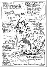 amazing armor of god coloring pages alphabrainsz net
