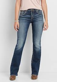 High Waist Bootcut Jeans Silver Jeans Co Izzy High Rise Bootcut Jeans Maurices
