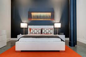 Orange And White Bedroom Orange And Black Interiors Living Rooms Bedrooms And Kitchens