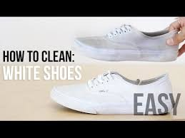 How To Wash Bright Colors - how to clean u0026 whiten your shoes easy fashion hack youtube