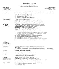 New Resume Template Sample New Grad Nurse Resume Cbshow Co
