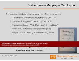 lean value stream mapping vsm powerpoint