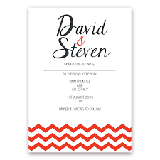 same wedding invitations by little ivory