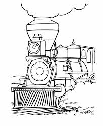 steam engine coloring pages kids coloring