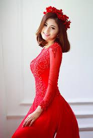ao dai cuoi dep áo dài cưới đẹp lộng lẫy 2015