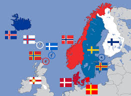 Country Flags Of The World File Nordic Cross Flags Of Northern Europe Svg Wikimedia Commons