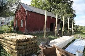 The Pole Barn Day One The Pole Barn Rises Bedlam Farm Journal
