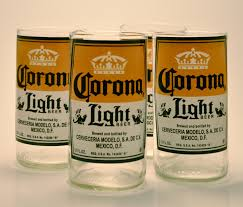 alcohol in corona vs corona light corona juice glasses
