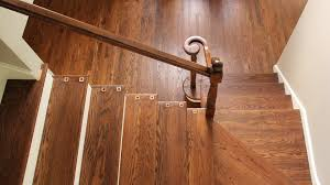 Laminate Floor For Stairs Hardwood Stair Refinishing Ryno Custom Flooring Inc