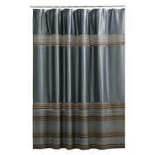 Cotton Shower Curtains Stripe Fabric Shower Curtain Blue Maytex Target