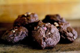 peppermint bark chocolate cookies recipe simplyrecipes com