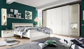 Schlafzimmerm El Weis Loddenkemper Meo Schlafzimmer Set Weiß Grau Möbel Letz Ihr