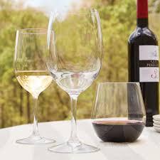 outdoor wine glasses plastic u0026 bpa free wine glasses wine
