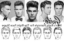 hair styles for oblong mens face shapes fresh hairstyles for men according to face shape in 2018 misparadas