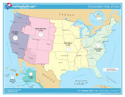 United States Map With Latitude And Longitude by Time In The United States Wikipedia