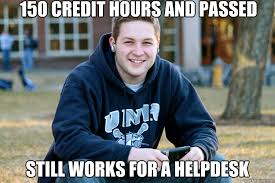 Cpa Exam Meme - 150 credit hours and passed cpa exam still works for a helpdesk