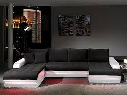 canape angle noir et blanc canap noir et blanc design deco in canape d angle cuir
