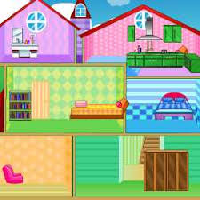 home decorating games online doll house decorating