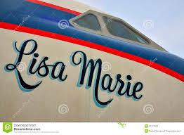 elvis presleys airplane editorial image image 51377820