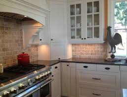 Kitchens With Black Countertops Tile Backsplash Ideas With White Cabinets White Kitchen