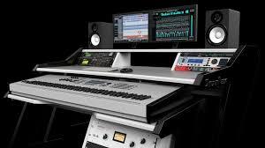 Small Recording Studio Desk Home Studiodesk