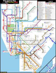 Map Nyc Subway Nyc Fantasy Map Member Created Maps Nyc Transit Forums