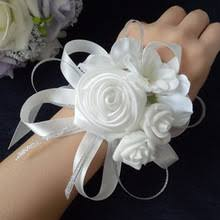 Cheap Corsages Popular White Corsages Buy Cheap White Corsages Lots From China