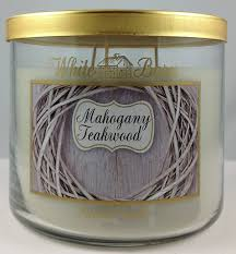 Home Decor Candles Amazon Com Bath U0026 Body Works Mahogany Teakwood Candle 14 5 Oz 3