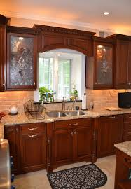 kitchen remodeling designs leaded glass cherry kitchen wall new jersey by design line kitchens