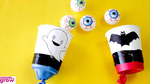 halloween shooters ideas how to make ping pong party shooters youtube