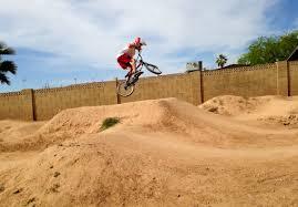 back yard session with colby landin bmx bike pumptrack