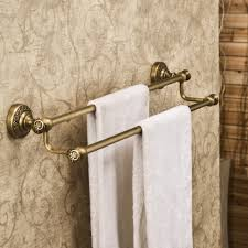 Vintage Bathroom Accessories by Vintage Bathroom With Height Towel Bar Aliexpress And Brass
