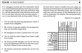 Printable Logic Puzzles Prolog Assignment 1