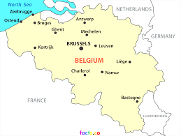 France On A Map by Maps Of Belgium Inside Belgium On A Map Evenakliyat Biz