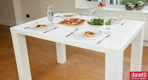 White Lacquer Dining Table by Dining Room Divine Furniture For Small Dining Room Decoration
