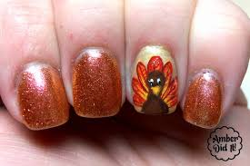 gel nail designs thanksgiving beautify themselves with sweet nails
