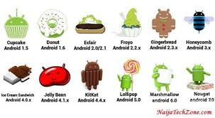 list of android version names and release date naijatechzone - List Of Android Versions