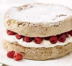hazelnut u0026 baileys meringue cake recipe bbc good food