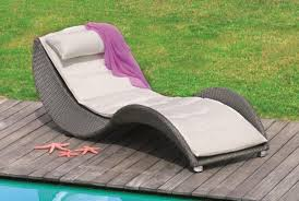 modern sun loungers u2013 exclusive outdoor furniture design ideas