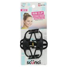 bun clip scunci jaw clip bun clip shop bobby pin clip and bow at heb