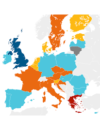 Interactive Map Of Europe by Only A Third Of The Eu Is Governed By The Centre Left World News