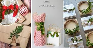 Christmas Decorations To Make Yourself - 50 awesome christmas gift wrapping ideas you can make yourself