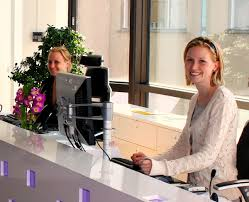 Salon Receptionist Job Description For Resume by Receptionist Wikipedia